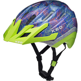 KED Dera II Helmet Kids Blue Green